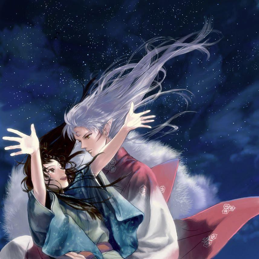 Rin x Sesshomaru Anime, Dibujos, Rin