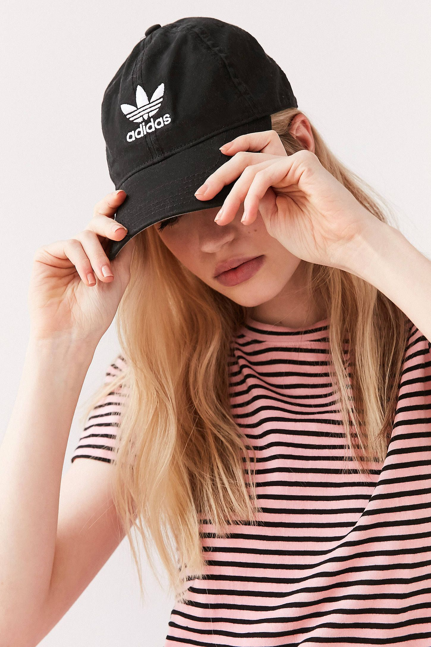 35dd10e5 adidas Originals Relaxed Strapback Baseball Hat | Buy buy | Baseball ...