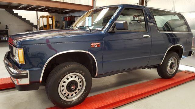 1 Owner S15 Jimmy 4x4 Chevy Blazer Chevy Chevrolet Blazer 4x4