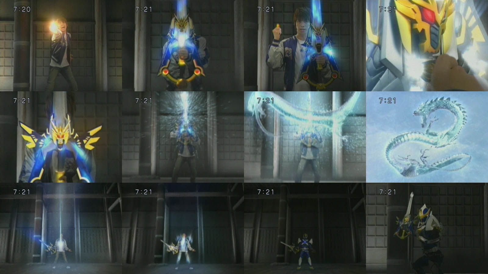 Ryukendo transformation Mobile suit gundam 00, Photo
