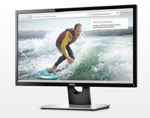 New Dell 24 034 Ips Monitor Led Backlight Se2416hsc1 Full Hd 1920 X 1080 Vga Hdmi Lcd Monitor Monitor Hdmi