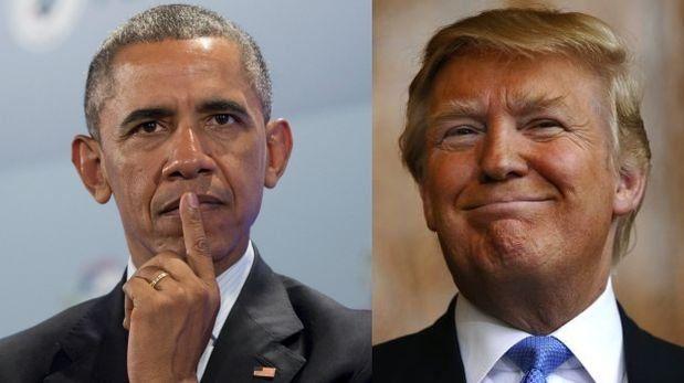 """Obama: """"Sigo pensando que Donald Trump no será presidente"""". Feb 2016."""