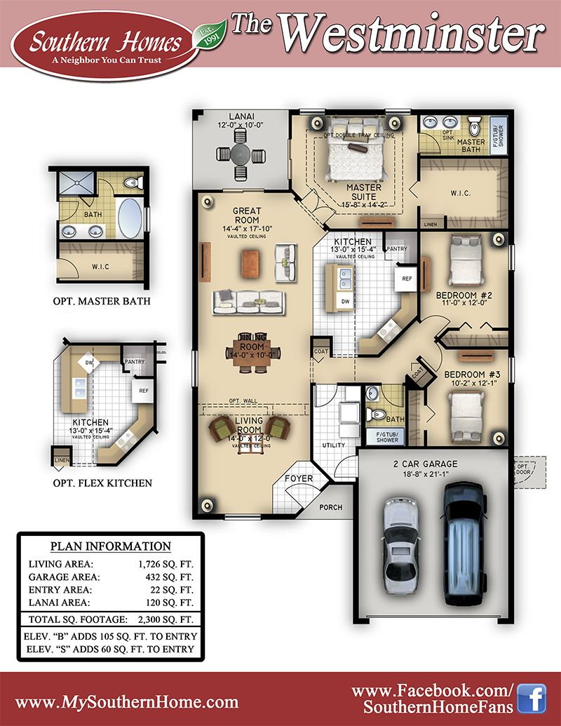 15+ Great southern homes floor plans ideas