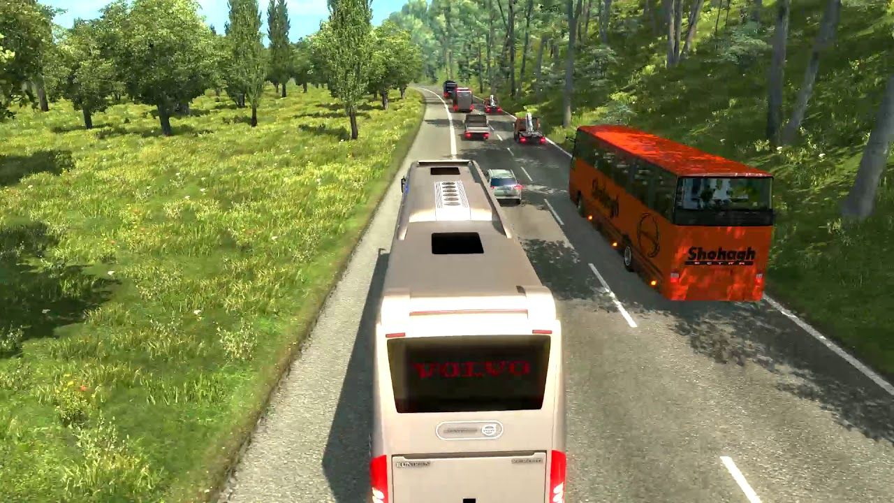 Euro Truck Simulator 2 Awesome bus driving from Dhaka to