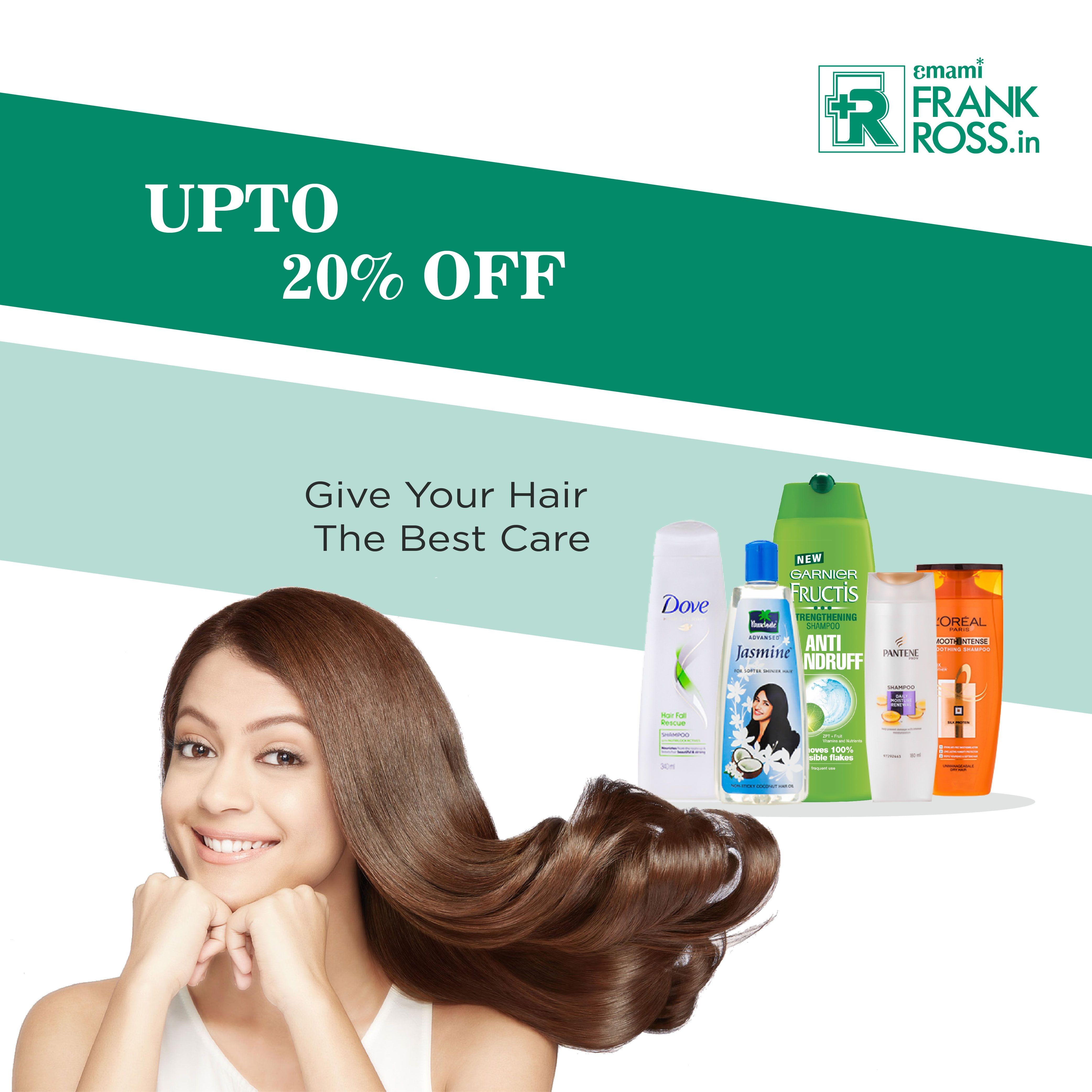 Amazing offer for your beautiful mane. Get upto 20% off on #hair care range on Frank Ross App and website. To shop: Visit: https://goo.gl/g2fI0j iOS - http://apple.co/1M96uCm Android- http://bit.ly/1P76qsr