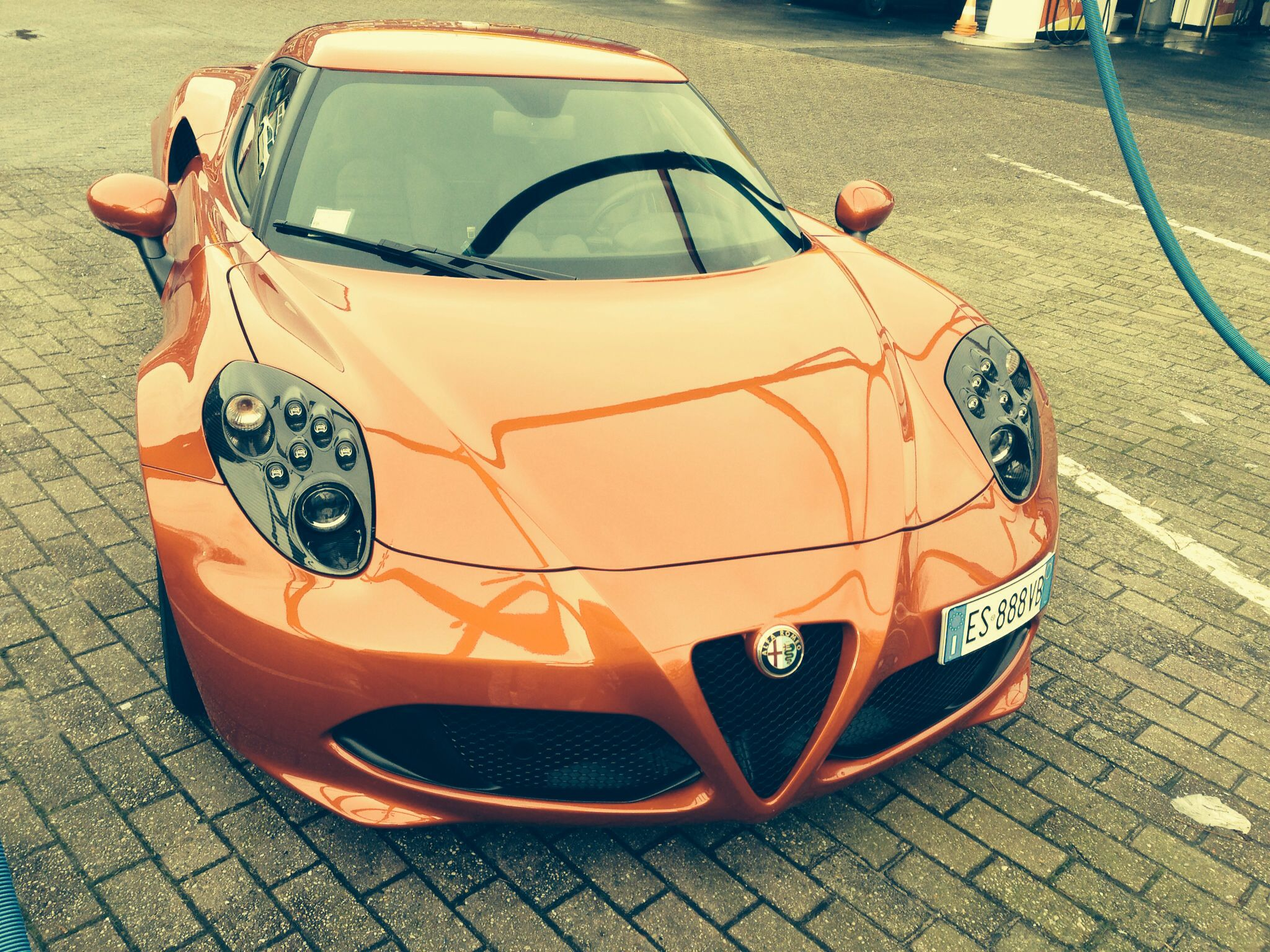 Alfa Romeo 4c prototype Alfa Romeo 4c prototype