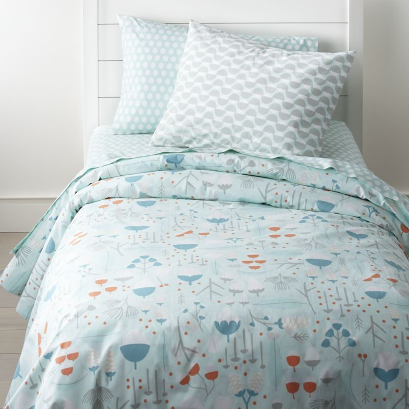 Shop Organic Twin Woodland Duvet Cover A Well Rested Kid Means A