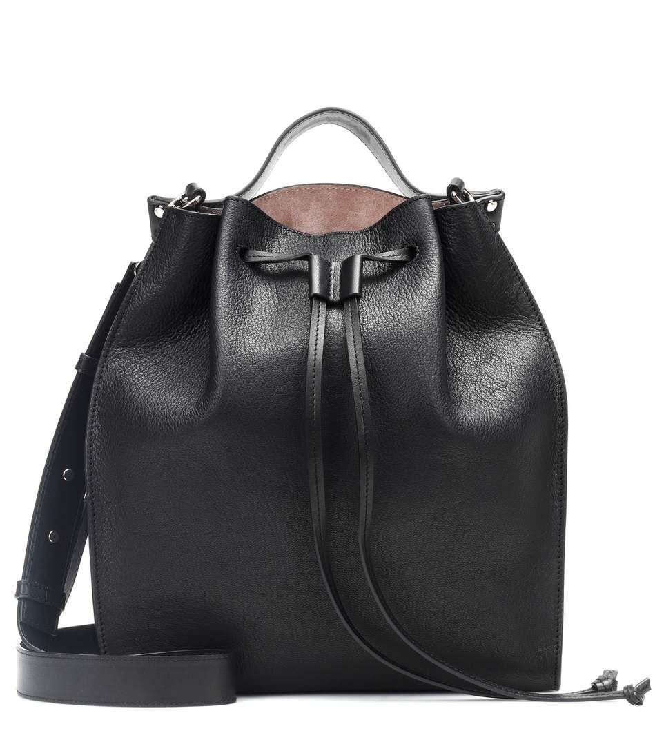 Black · J.W.Anderson Drawstring leather shoulder bag b6108d923c597