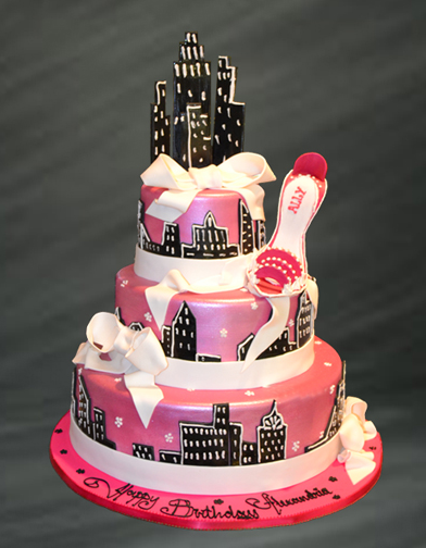 sex in the city wedding cake in the city cake my favorite television show i 19761