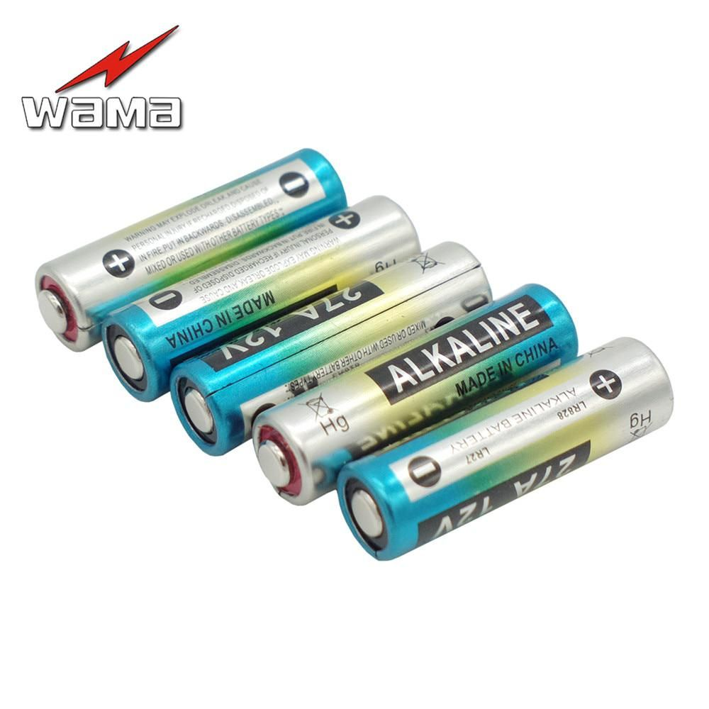 5x Wama 12v 27a Primary Dry Batteries A27 27ae 27mn L828 Electronic Car Remote Toys Alkaline Battery Wholesales With Images Consumer Electronics Alkaline Battery Electronics