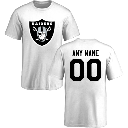 601685373 Youth Oakland Raiders Design-Your-Own Short Sleeve Custom NFL T-Shirtcheap  nfl jerseys