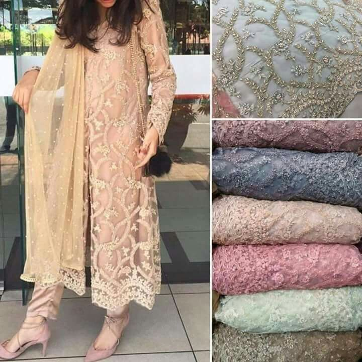 8e0fcb532c Heavy cut dana moti work on net with silk lining, silk bottom n pure  chiffon dupatta For booking plz whatsapp me or call me 9873000301 or wana  join ...