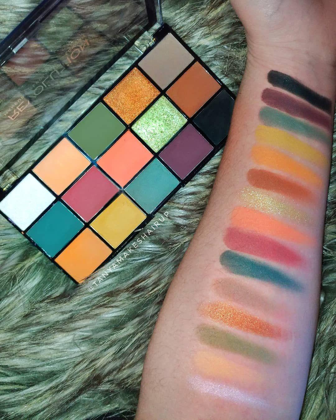 Image result for makeup revolution reloaded palette (With