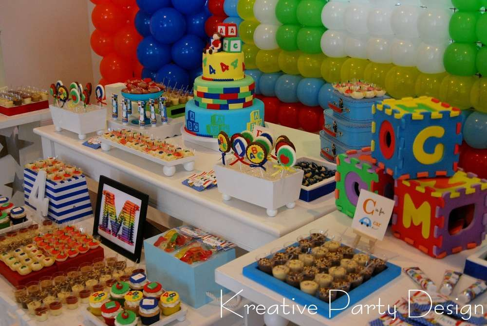 Abcs Birthday Party Ideas In 2019 Back To School Party Ideas