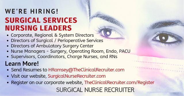 is searching for nursing leaders nationwide