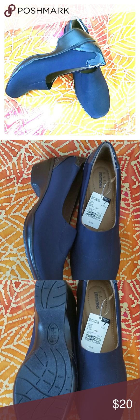Dress shoes Womens,  Glenda Navy Shoes