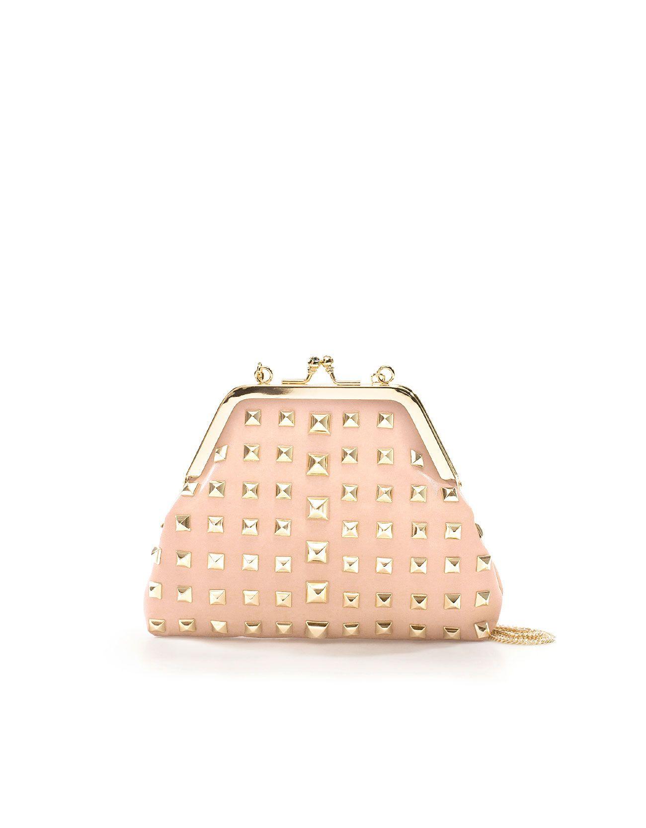 diseño de calidad e2c76 0796f El bolso ideal para una noche de fiesta #bolsos #zara ...