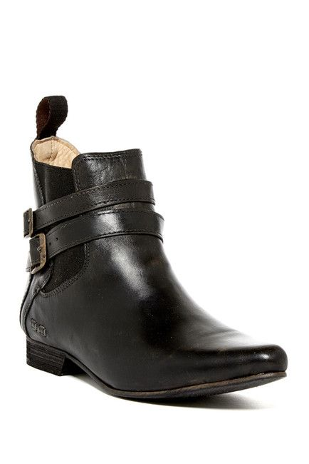 Image of Bed|Stu Ravine Leather Pointed Toe Ankle Boot. Leather Ankle  BootsNordstrom ...