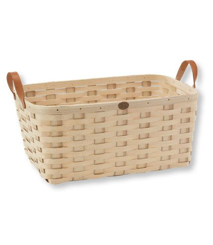 Peterboro Woven Storage Basket, Extra-Large: Storage and ...