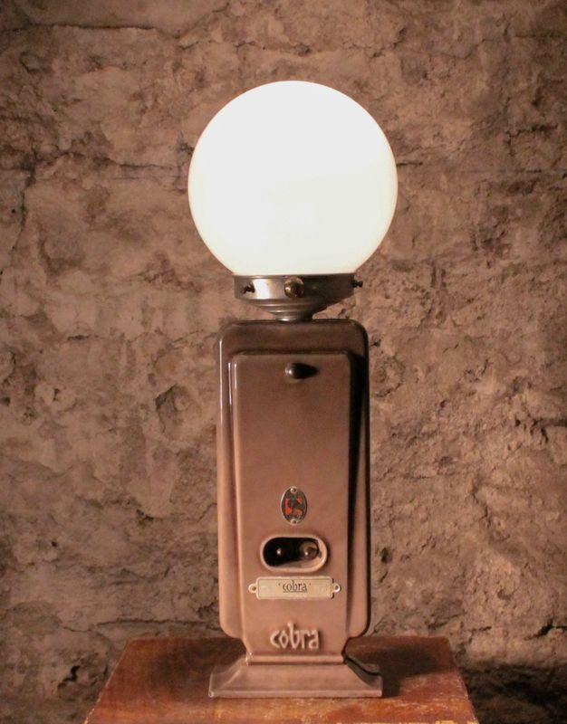 Lampe récup