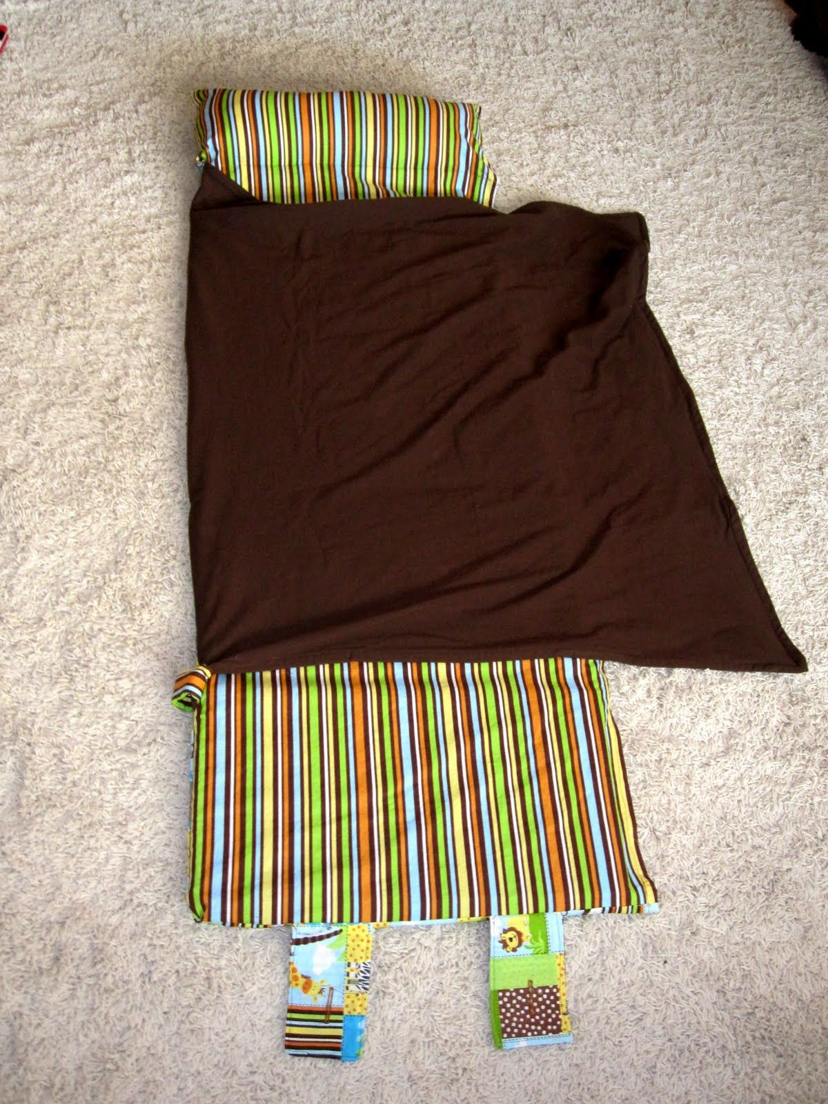 Nap Mat With Attached Blanket And Pillow Great Tutorial