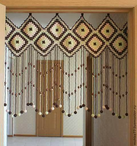 para la puerta cortinas para puertas pinterest. Black Bedroom Furniture Sets. Home Design Ideas