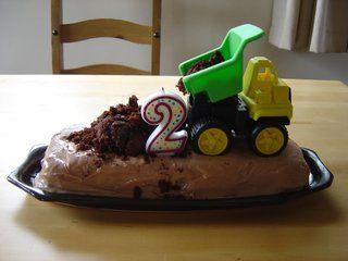 Easy truck cake Birthdays Pinterest Truck cakes Easy and Cake