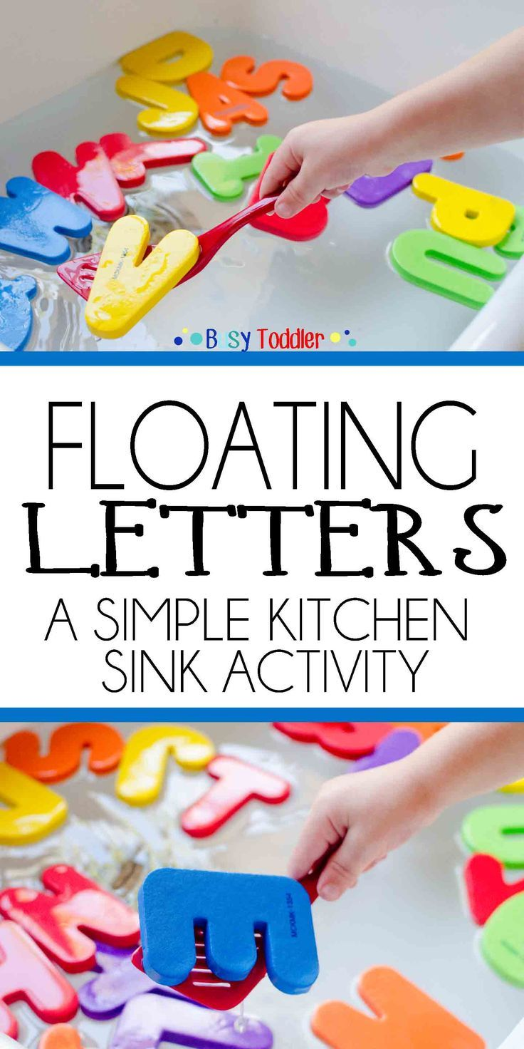 floating letters a simple kitchen sink activity for toddlers and preschoolers a quick and easy activity