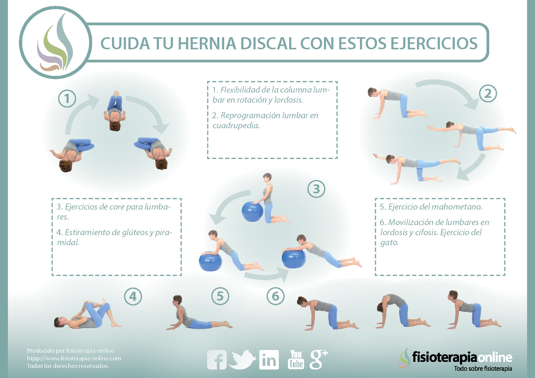 As 25 melhores ideias de ejercicios para hernia discal no pinterest que es hernia discal - Ejercicios en piscina para hernia discal l5 s1 ...