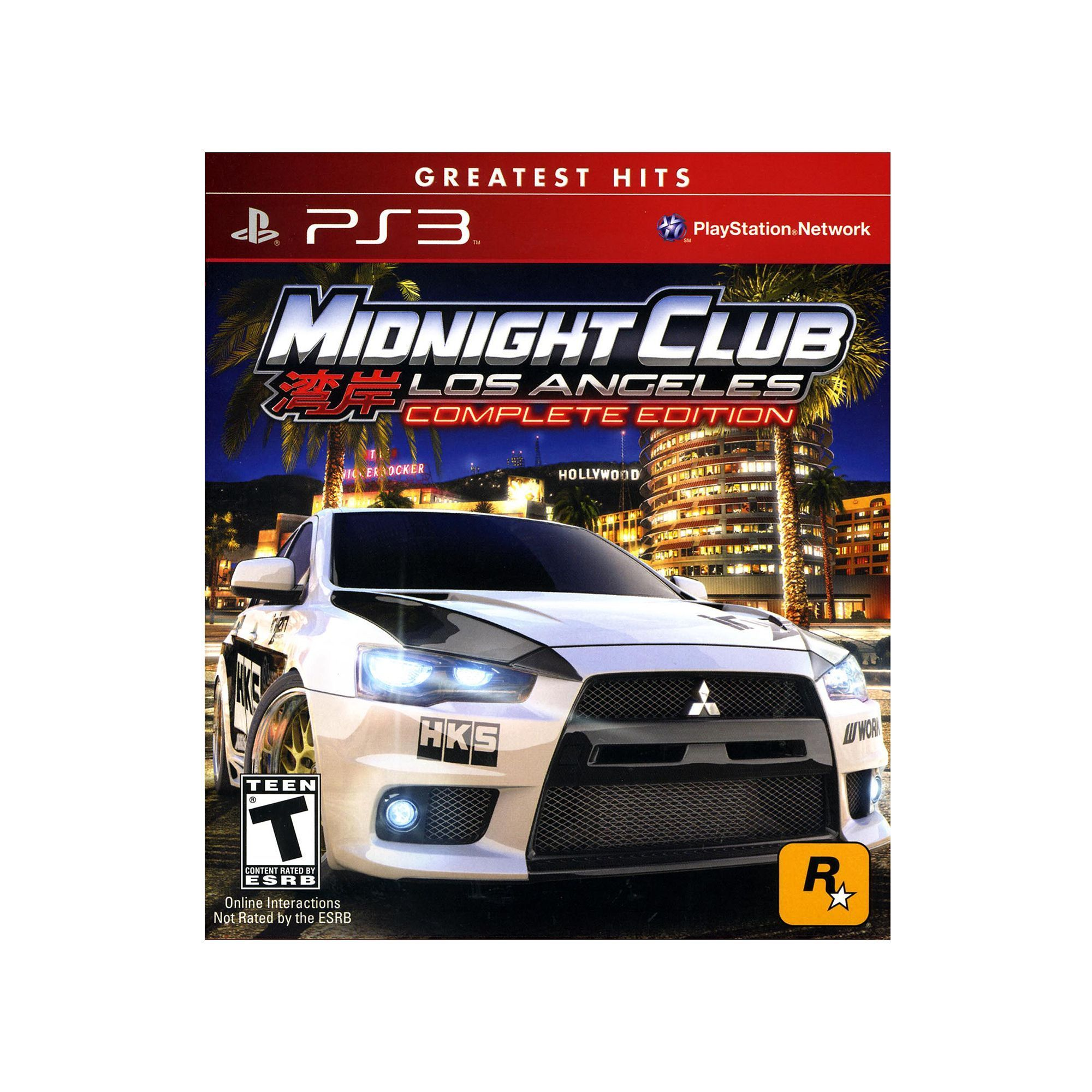 Midnight Club Los Angeles The Complete Edition For Playstation - Midnight club los angeles map expansion