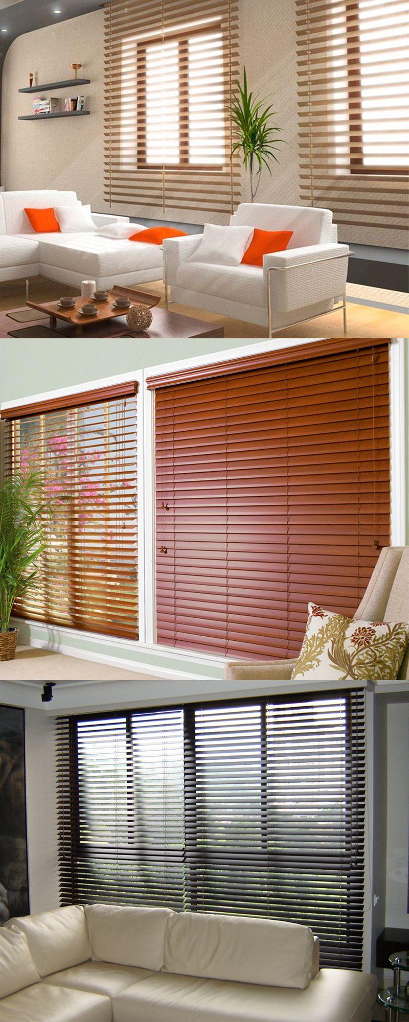 La persiana de madera est elaborada con la m s fina - Persiana enrollable madera ...