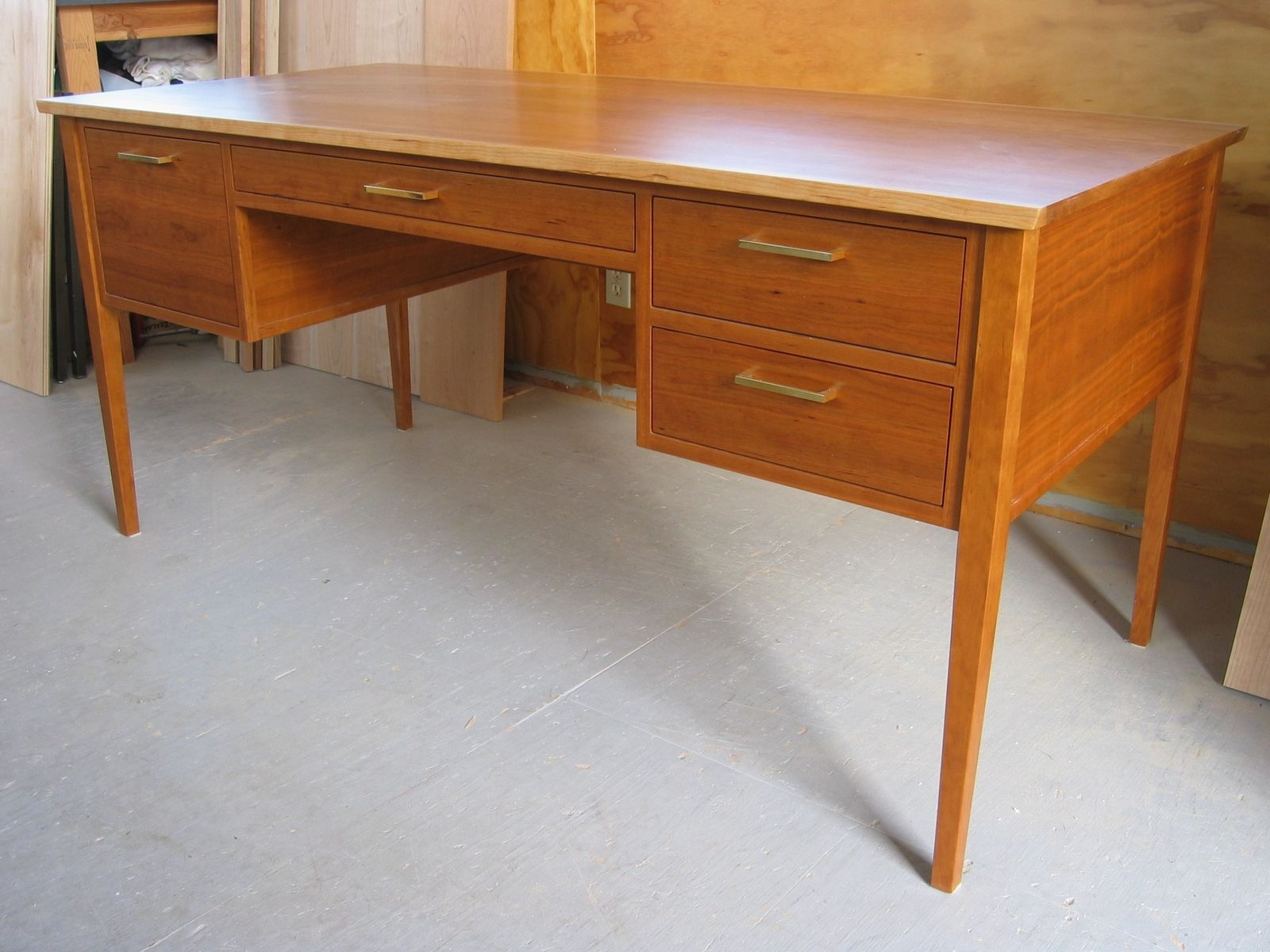 Custom Made Cherry Office/ Writing Desk