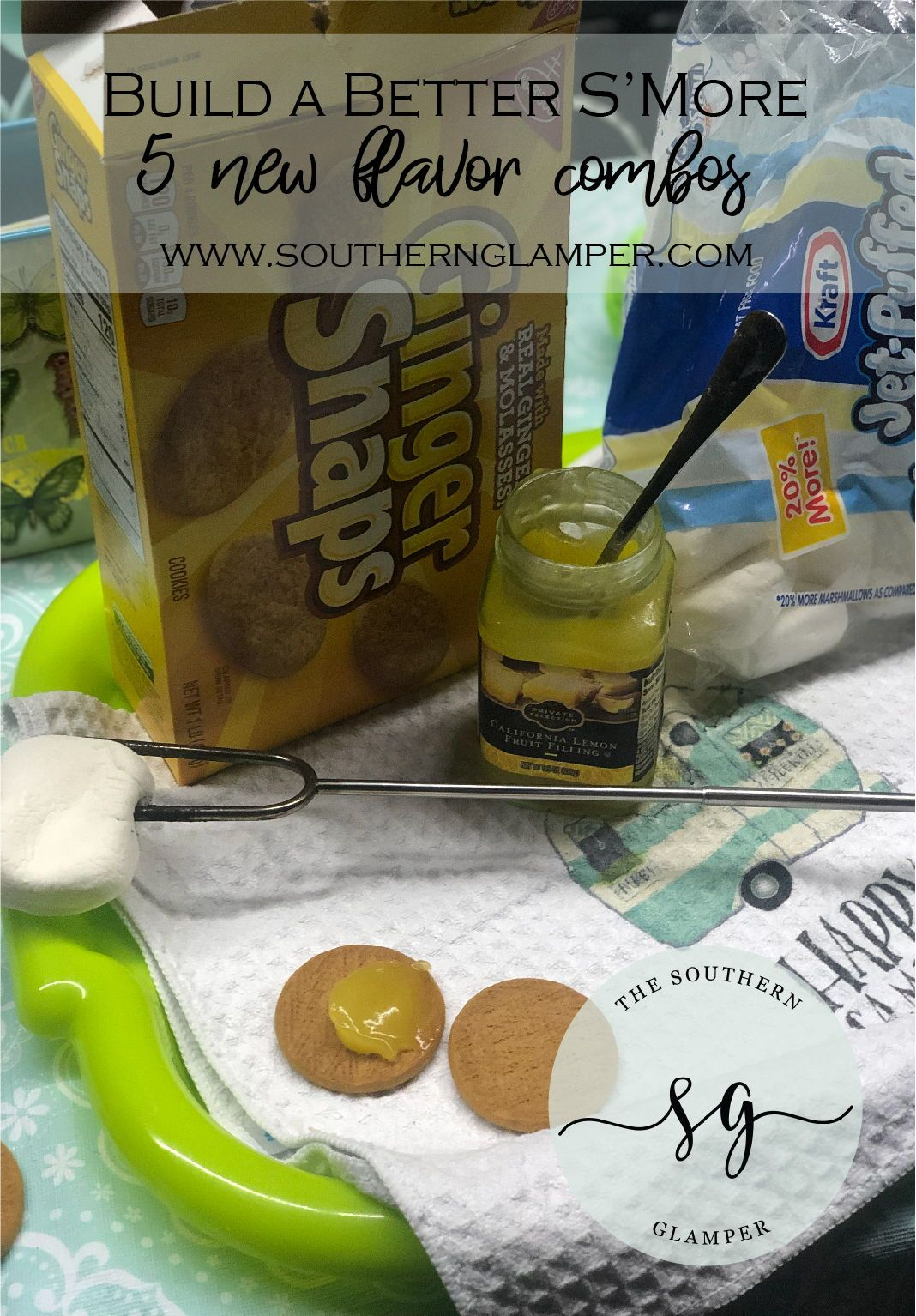 S'more Ideas for Fall Camping S'more ideas for a classic camping treat.  Try these twists of a familiar classic for some new fall fun around the campfire!