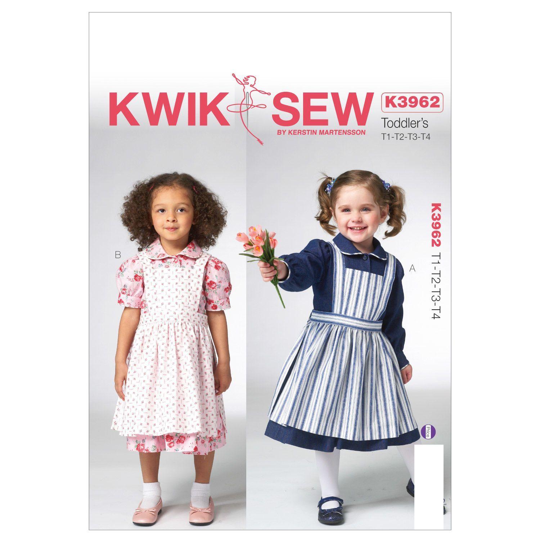 Mccall Pattern K3962 All Sizes -Kwik Sew Pattern | Elbiseler | Pinterest
