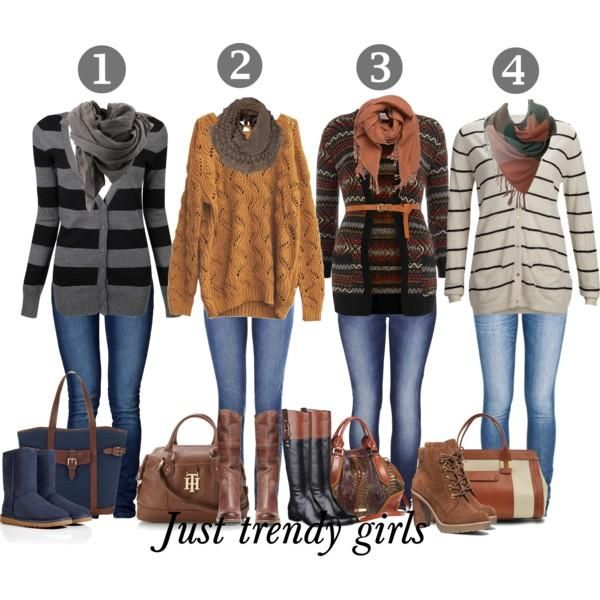 mix and match fall outfits, What's your favorite casual ...