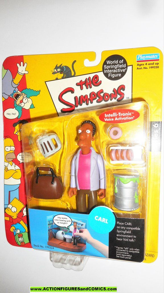 Pin On Simpsons Playmates Toys The Action Figures