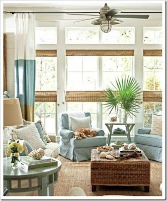 Lush Fab Glam Beach Themed Home Decor Bring The Tranquility Of