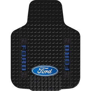 Plasticolor Ford Oval Pickup Floor Mat Black Walmart Com