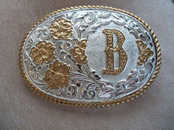 Vintage Belt Buckle  Initial B by Nanas by NanasVintageShop, $39.95