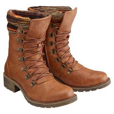 Joe Browns Tan Knitted Top Ankle Boots At Debenhams Wish List