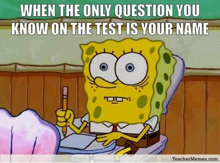 Pin By Madelyn U On Truth Spongebob Memes School Memes Funny