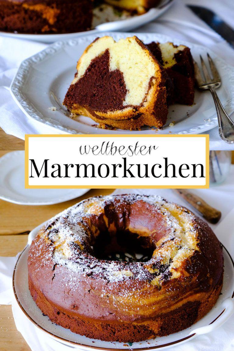 Weltbester Marmorkuchen à la – Kuchen