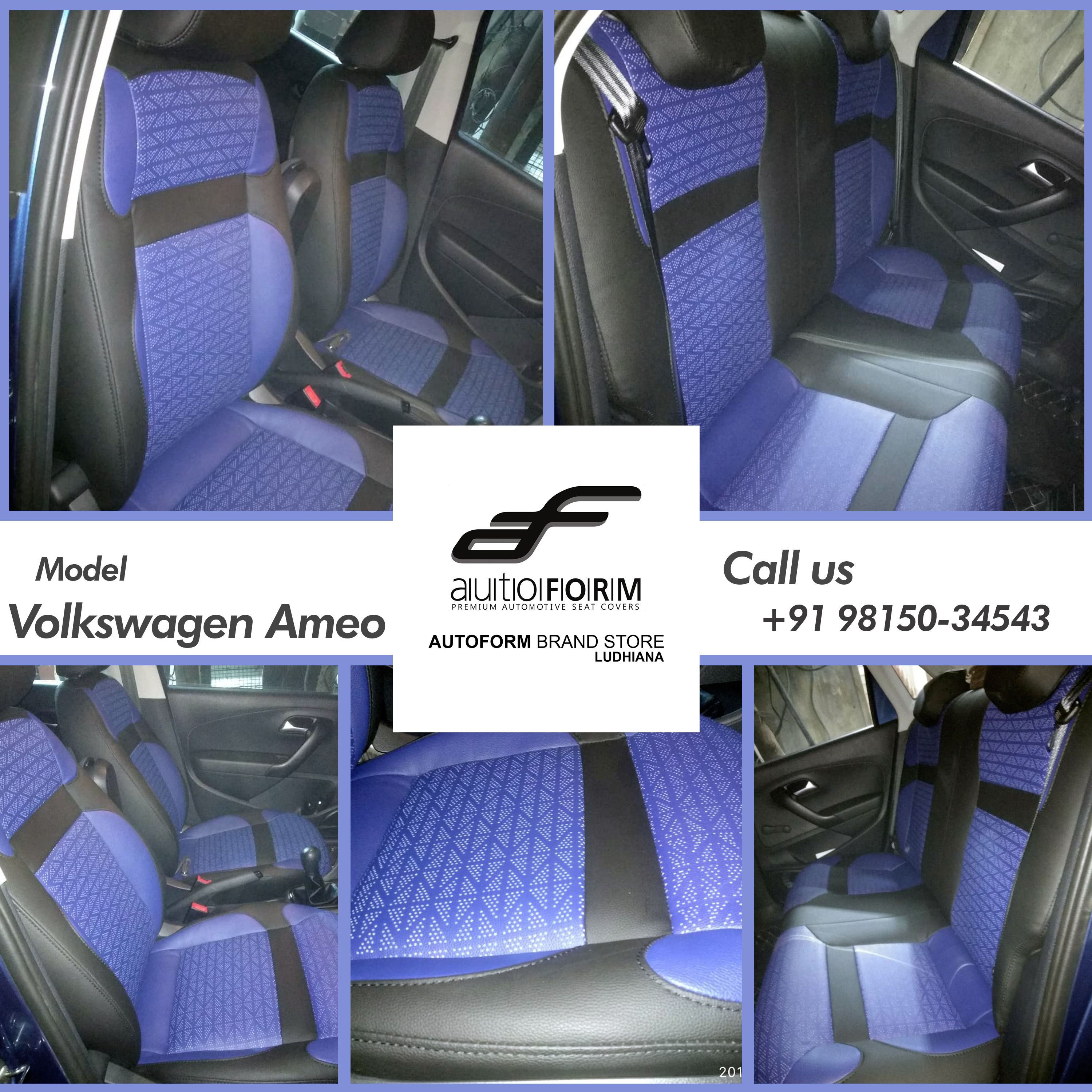 Fine Sporty Look In Volkswagen With Zig Zag Perforated Design So Ocoug Best Dining Table And Chair Ideas Images Ocougorg