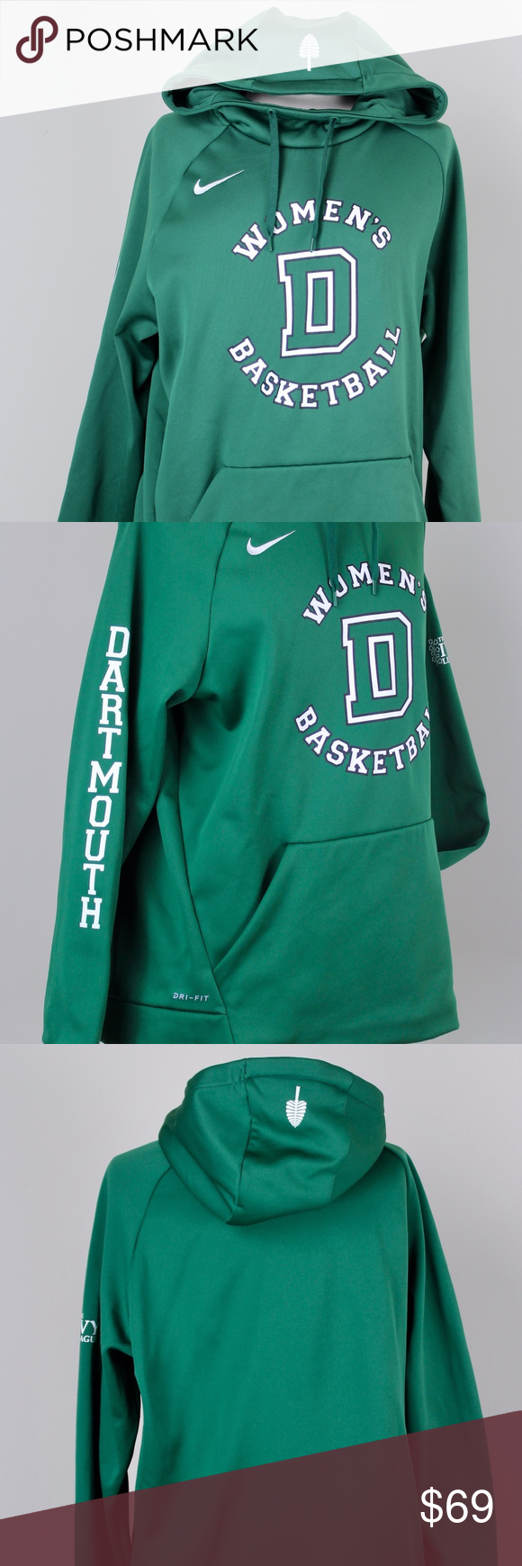 Dartmouth Women S Basketball Hoodie L Niki Dri Fit This Is A Wonderful Like New Dartmouth Women S Basketball Fleece Hoo Womens Basketball Dri Fit Fleece Hoodie [ 1740 x 580 Pixel ]
