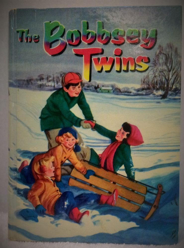 Vintage The Bobbsey Twins Merry Days Indoors & Out Book by Laura Lee Hope NICE