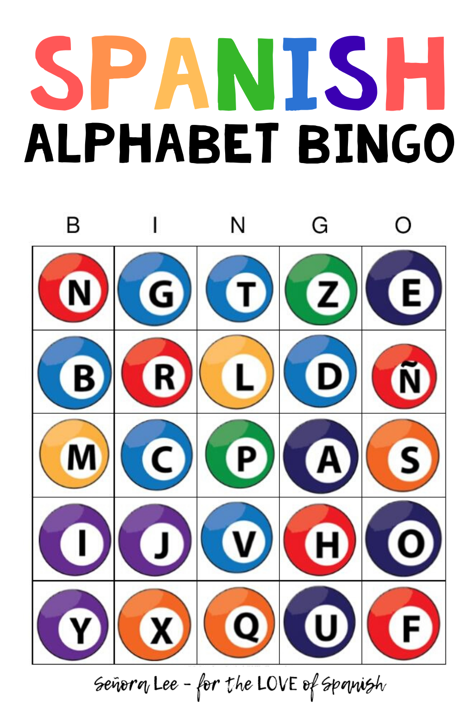 Spanish Alphabet Spanish Bingo Game Beginner Spanish Spanish Alphabet Activities Spanish Alphabet Elementary Spanish [ 1500 x 1000 Pixel ]