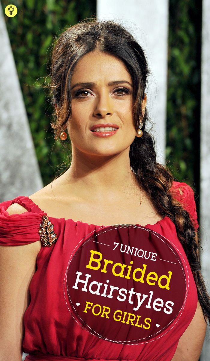 Unique Braided Hairstyles For Girls  Unique braids Braid