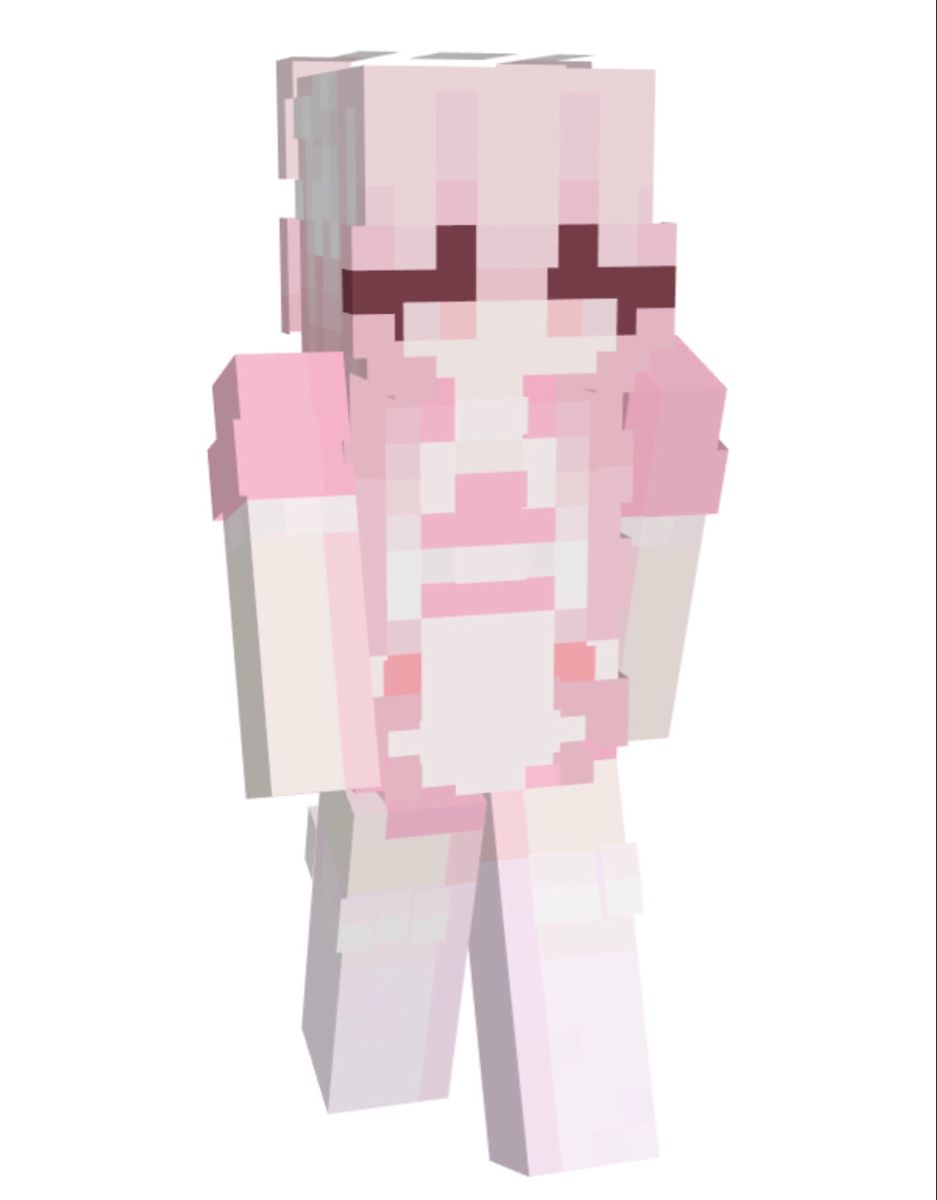 pink maid outfit minecraft skin   NameMC in 20   Minecraft skins ...
