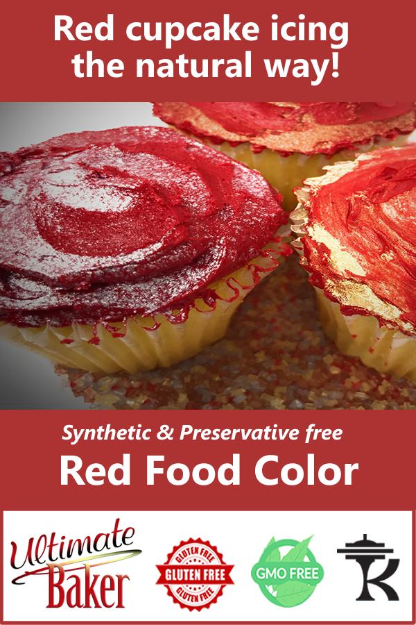 Natural Red Food Color | Cupcakes! in 2019 | Food, Natural ...