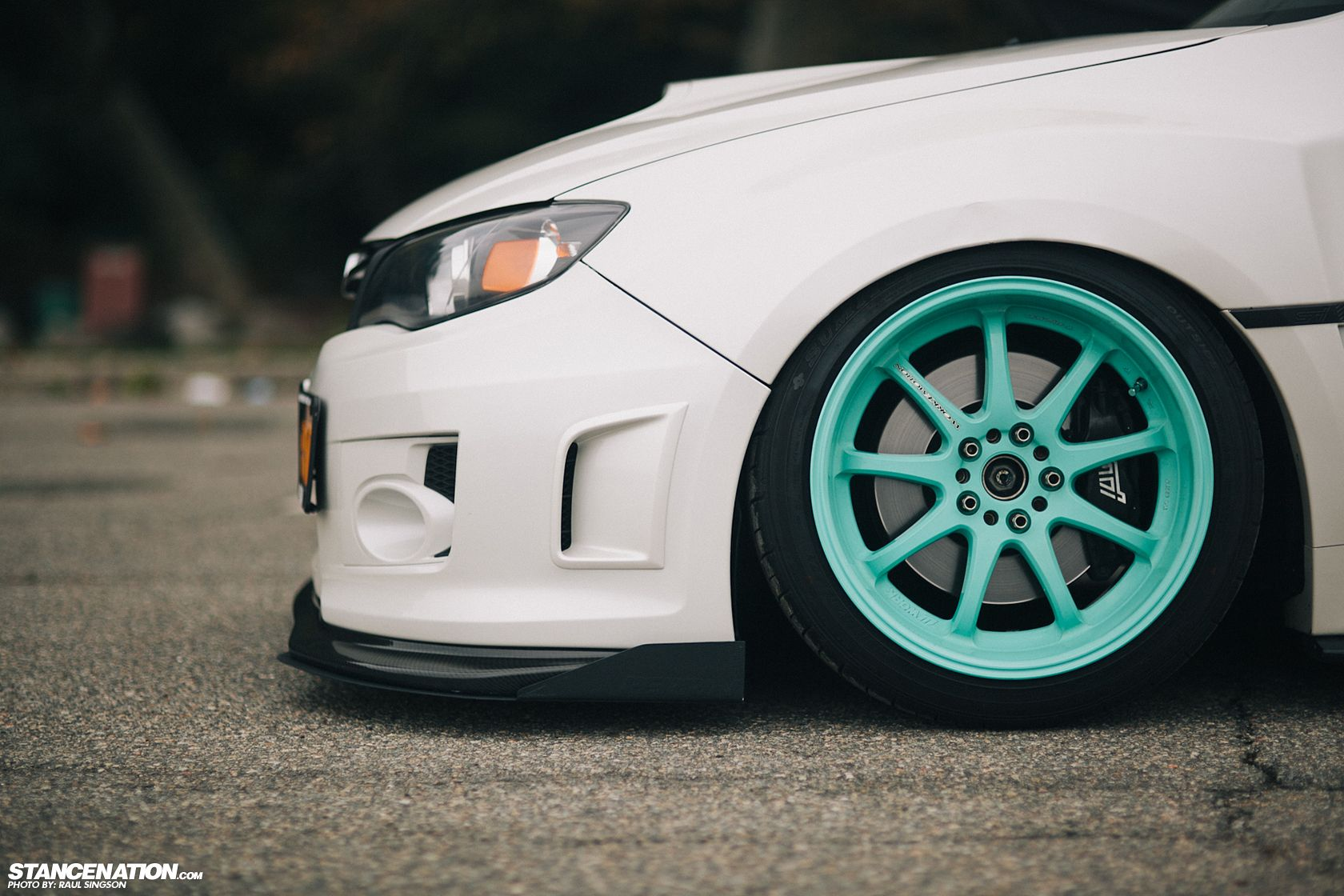 Breaking Necks On Tiffany's // Ian's sexy Subaru STi. | StanceNation™ // Form > Function